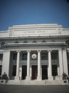 "...we visited the ""Supreme Court"" to get the ""Application Paper"" for a ""Witness Protection Program"" for one of our farmers!"